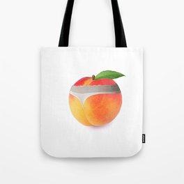Peach booty Tote Bag