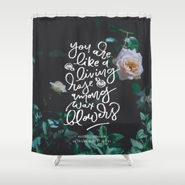 An Enchantment of Ravens Shower Curtain