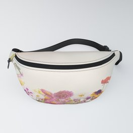 Colorful Flowers in the Garden Fanny Pack