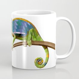 The Chameleon (Colored) Coffee Mug