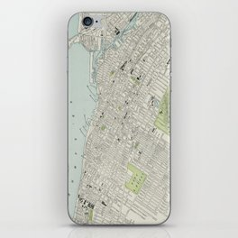 Vintage Map of Montreal (1901) iPhone Skin