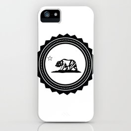 CALI WHITE iPhone Case
