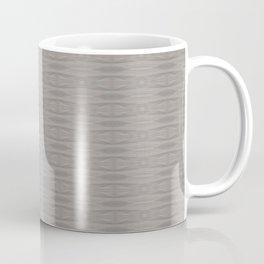 Elegant Gray Geometric Southwestern Pattern - Luxury Coffee Mug