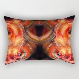 Secret Neural Pathways of an FM Synth #abstract Rectangular Pillow