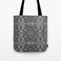 Frozen Black Tote Bag