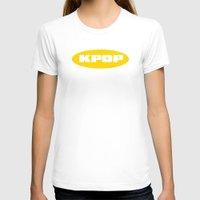 kpop T-shirts featuring Blue KPOP by Factorialist