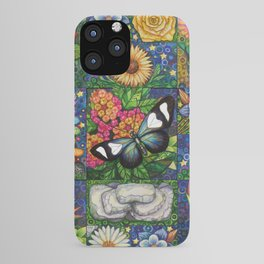 Long Wing with a Labradorite Hug iPhone Case