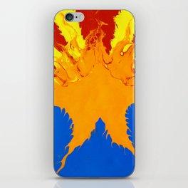 Arizona Flag (Poured Acrylic Style) iPhone Skin