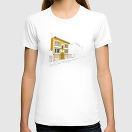 Yellow San Francisco Haus T-shirt