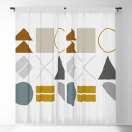Mid West Geometric 02 Blackout Curtain