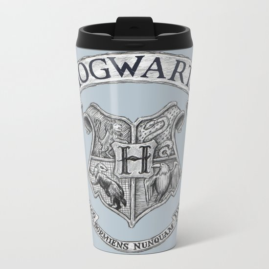 Hogwarts Metal Travel Mug