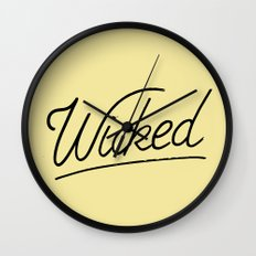Wicked Wall Clock
