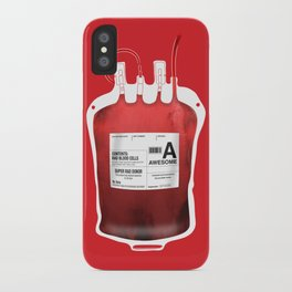 My Blood Type is A, for Awesome! *Classic* iPhone Case