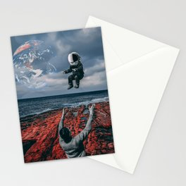 Raising Astronauts Stationery Cards