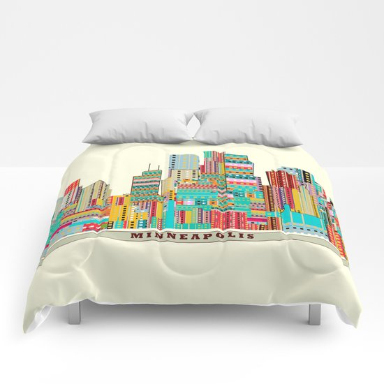 Minneapolis city  Comforters