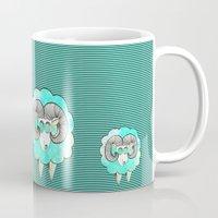 ram Mugs featuring Am's ram by AmDuf