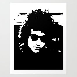"Bob Dylan painting, hand painted acrylic piece of art on canvas, 30x40cm / 12""x16"". Pop Art. Art Print"