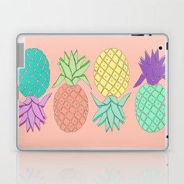 pineapple large coral Laptop & iPad Skin