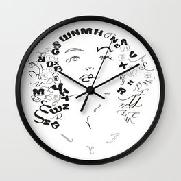 Joan Crawfoard Wall Clock