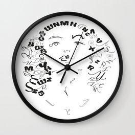 Joan Crawfoard Wall Clock