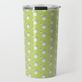 My Neighbor Pattern (Green) Travel Mug