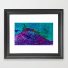 Undersea Exploration Framed Art Print
