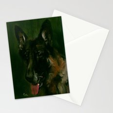 SHEPHERD in SHADOW Stationery Cards