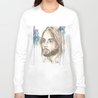 jared leto Long Sleeve T-shirts featuring Leto by SirScm