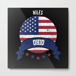 Niles Ohio Metal Print