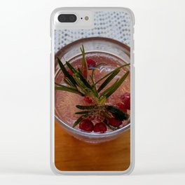 Gin and Tonic Clear iPhone Case
