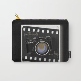 Camera Vintage: see the world in a lens Carry-All Pouch