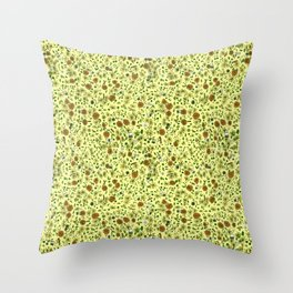 For the Love of Tea Throw Pillow