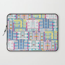 Miami Art Deco Landmarks Laptop Sleeve