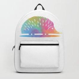 Colorful Hedgehog Backpack