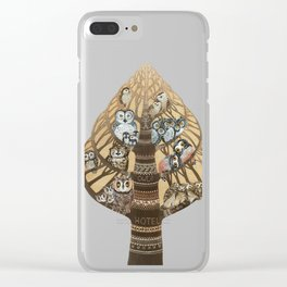 Owl Hotel Clear iPhone Case