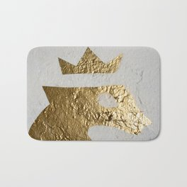 Gold Crown Bath Mat