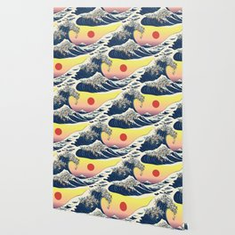 The Great Wave Of  Cat Wallpaper