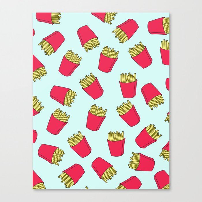 Fries Canvas Print