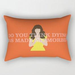 Pushing Daisies - Chuck Rectangular Pillow