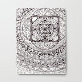 la fleur Metal Print