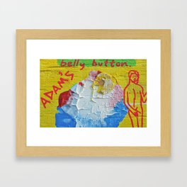 """Innie:Outtie"" Framed Art Print"