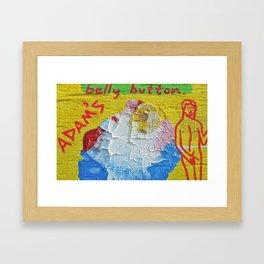 """Innie:Outtie"" Framed Art Print"