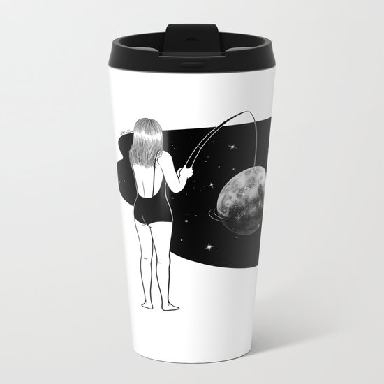 I just got mooned Metal Travel Mug