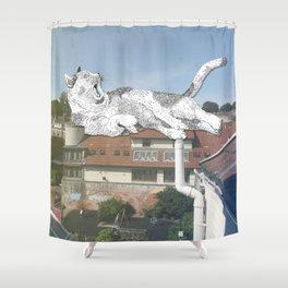 Rooftop Slumba Shower Curtain