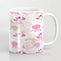 magnolia Mugs featuring Magnolia by SURFACE HUG