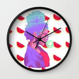 WATERMELONDREA Wall Clock