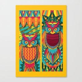 Owl's Canvas Print