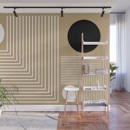 Lines & Circles Wall Mural