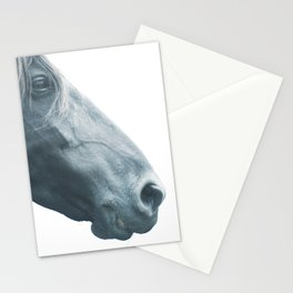 Horse head - fine art print n° 2, nature love, animal lovers, wall decoration, interior design, home Stationery Cards
