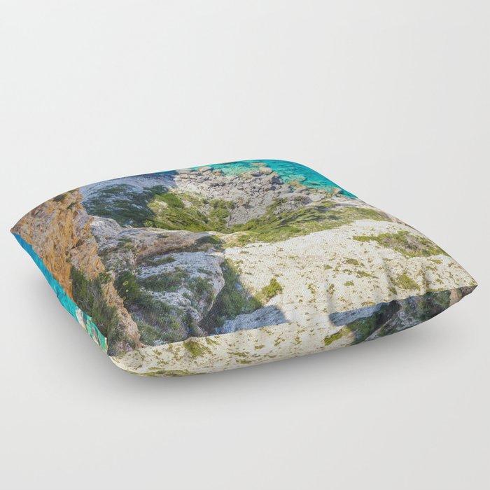 Greece Floor Pillow
